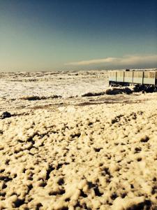 Strandpaviljoen De Vrijheit lentestorm