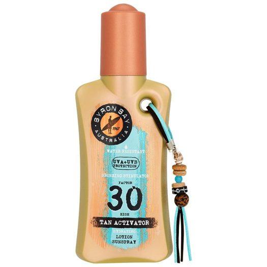 Byron Bay Tan Activator SPF 30 zonnebrand spray