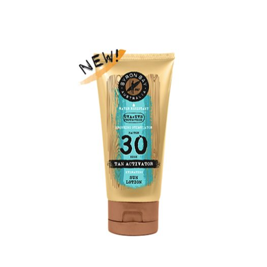 Byron Bay Tan Activator SPF 30 zonnebrand travel size tube - 100 ml
