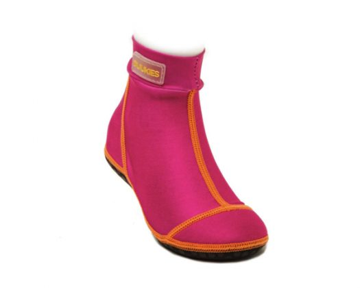 Duukies Beachsocks Fuchsia Orange